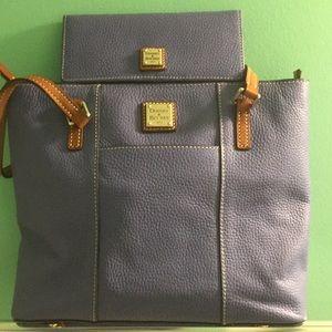 Authentic Dooney & Bourke SM Lexington with wallet
